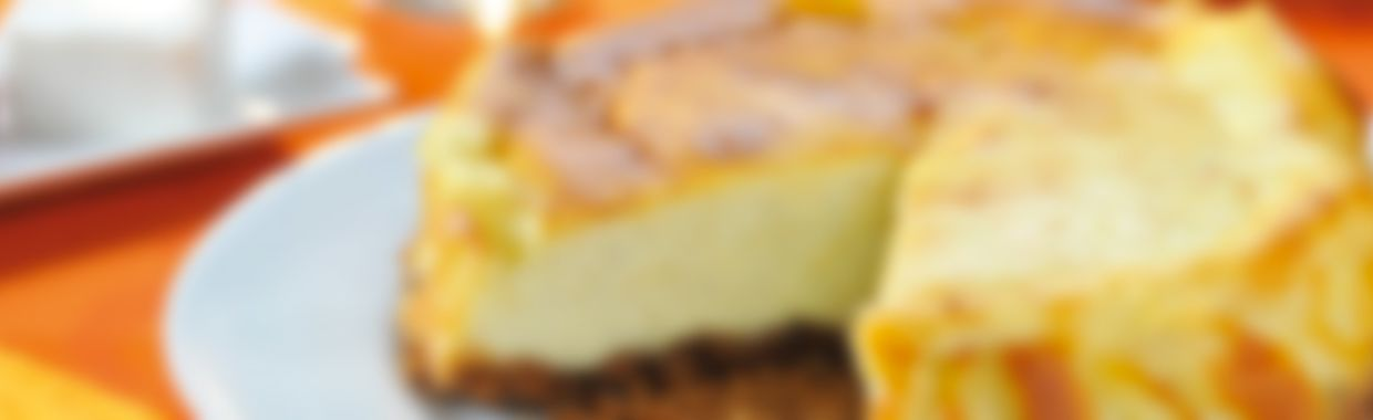 Cheesecake au fromage frais 0%