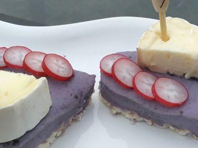 Recette : Bouchées de la Saint Valentin au fromage - Recette au fromage