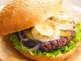 Recette : Burger au fromage de chèvre - Recette au fromage