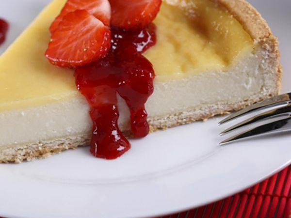 Tartes salées et sucrées au fromage :  Tarte au fromage frais