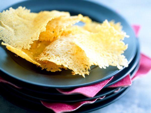 Recette : Chips de fromage - Recette au fromage