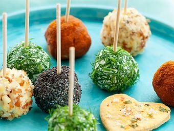 Recette : Billes de fromage frais et saumon aux épices - Recette au fromage