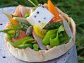 Recettes : Pique-niquez léger avec les fromages