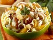 Recette : Salade d'automne au fromage - Recette au fromage