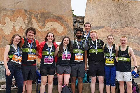 Marrow Edinburgh Marathon Festival