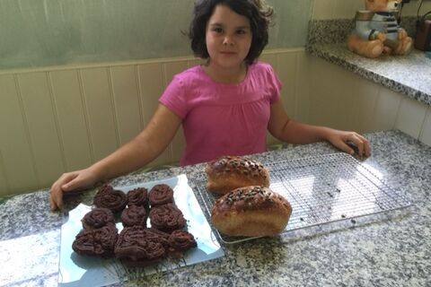 Ayesha before her transplant