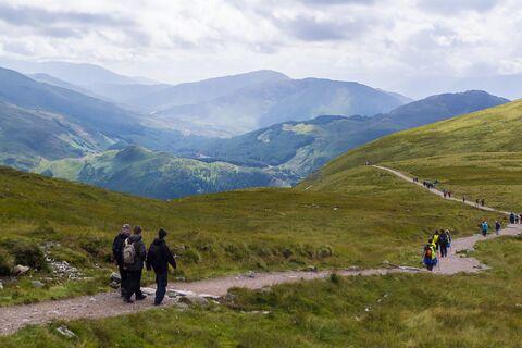 Three Peaks Challenge Ben Nevis