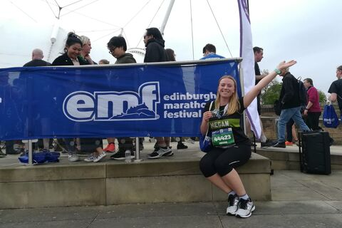 Megan Gullam Edinburgh Marathon Festiva