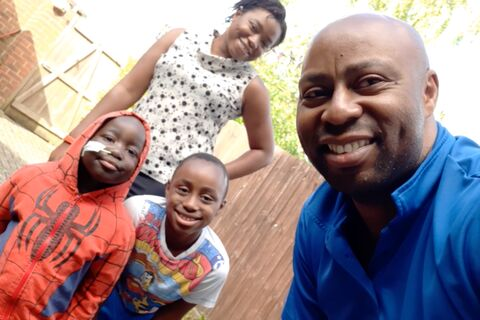 Anesu and family