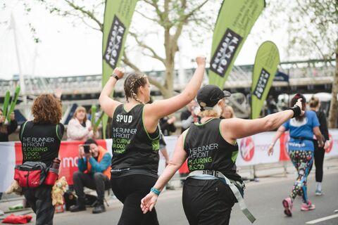 Team photo London Marathon