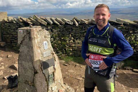 Virtual London Marathon Geoff Bolton