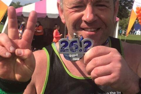 Gerry Edinburgh Marathon