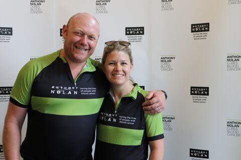 Fergus and Rebecca Gask RL19 post-ride
