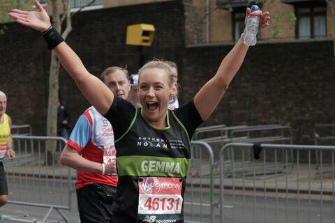 Gemma Morris London Marathon