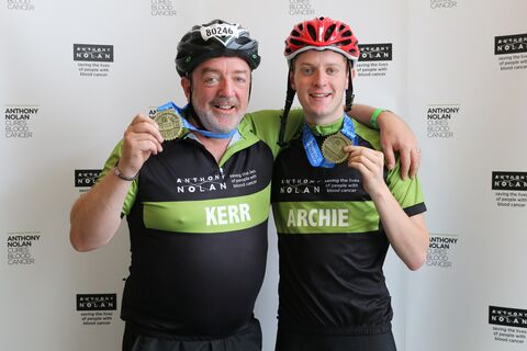 Kerr and Archie McPhee RL19 - post-ride