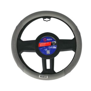STEERING WHEEL COVER MEDIUM GREY SPARCO