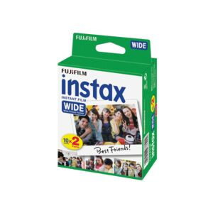 INSTAX WIDE INSTANT FILM TWIN PACK 20'S