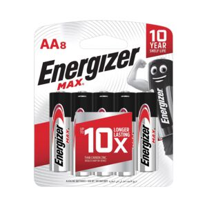 Battery size AA 8/pack E91 BP8 ENERGIZER