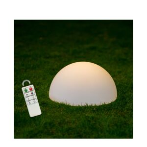 DECORATIVE 35CM LED HALFBALL LAMP MCOLOR