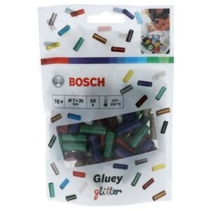 BOSCH GLUEY STICKS GLITTER 70 PCS