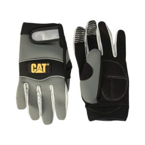 LEATHER PADDED GLOVE SYNTHETIC MEDIUM