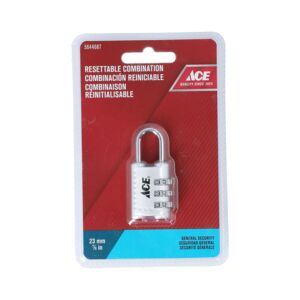 "PADLOCK LUGGAGE 7/8"" 24MM RESETABLE"