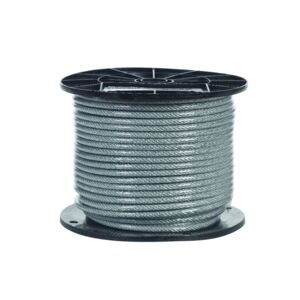 "CABLE 3/16"" 76M COATED CAMPBELL /METER"