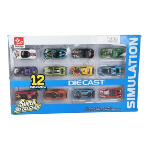 CAR DIE CAST TOY 4PC PACK #HY43A5