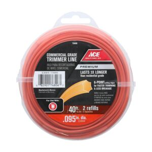 TRIMMER LINE .095MM 40FT PROF CARDED