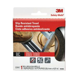 "OUTDOOR TREAD 1"" ANTI-SLIP BLACK 3M"
