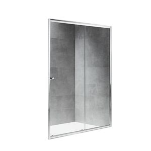 SHOWER DOOR TOP DRIVE PIVOT 90X190CM 6MM