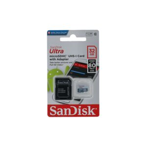 ULTRA ANDRIOD MICROSDHC+SD ADAPTER 32GB