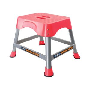 STEP STOOL 400X300MM RED