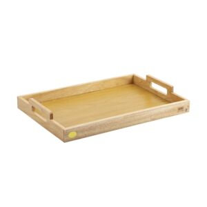 SERVING TRAY W/PARTICLE BOARD BILLI