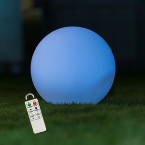 DECORATIVE 35CM LEDBALL LAMP IP68 MCOLOR