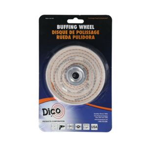 "BUFFING WHEEL 4"" SPIRAL SEW"