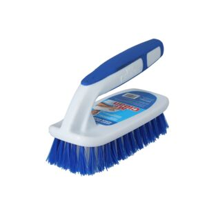 BRUSH SCRUB W/HANDLE DURABLE BRISTLE