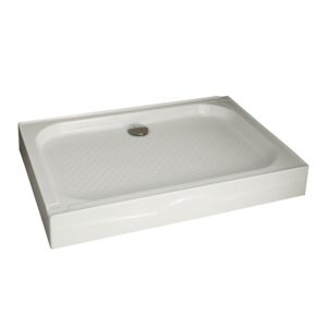 SHOWER TRAY CLOUD 120X90X14CM WHITE