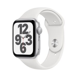 APPLE WATCH SE 44MM SGRAY CASE BLK BAND
