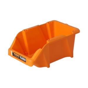 BIN STORAGE 10.3X16.5X7.5CM YELLOW - MAN