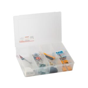 UTILITY BOX 8COMPARTMENT PLASTIC TACTIX