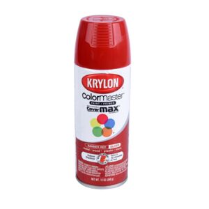 SPRAY PAINT 12oz IN/OUT BANNER RED GLOSS