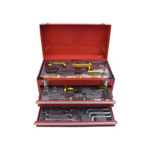 TOOLS SET 83PCS 2DRAWER METAL BOX