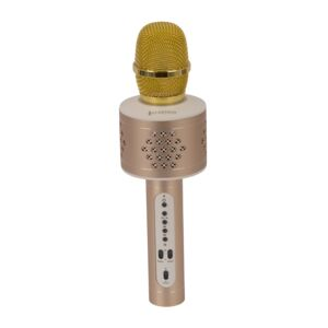 BLUETOOTH KARAOKE MICROPHONE M04 GOLD