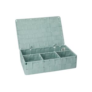 BATH ORGANIZER ADRIA SMALL W/LID MINT
