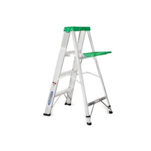 LADDER 4FT/3STEPS 225LB ALUMINUM WERNER