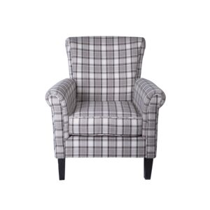 CHAIR ACCENT 80X83X90CM LIGHT GRAY