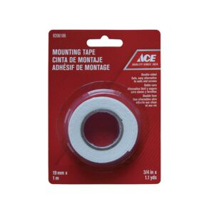 "MOUNTING TAPE .75""X1M ROLL ACE"