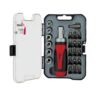 SCREWDRIVER 23PCS SET PRECISION RACHET