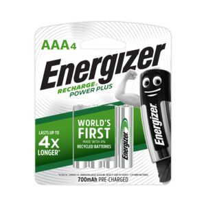 Energizer Rechargeable Battery 4AAA/CD